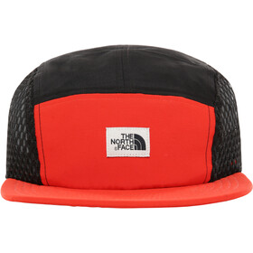 The North Face Class V TNF Five Panel Hat fiery red/tnf black